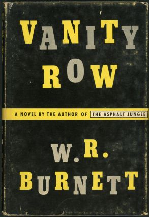 VANITY ROW. Burnett, illiam, iley