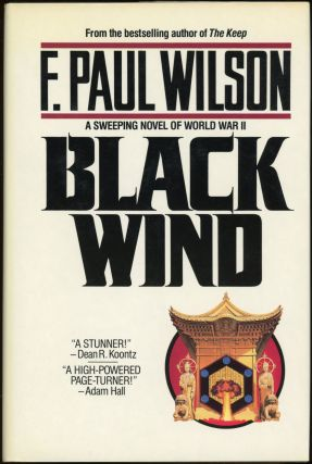 BLACK WIND. Paul Wilson, rancis