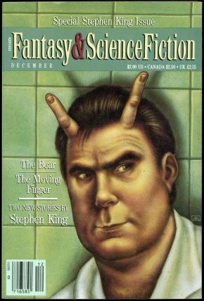 THE MAGAZINE OF FANTASY AND SCIENCE FICTION. Stephen King, No. 6 Volume 79, Whole number 475