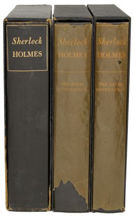 THE ADVENTURES OF SHERLOCK HOLMES... with THE LATER ADVENTURES OF SHERLOCK HOLMES... with THE...