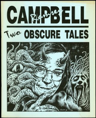 TWO OBSCURE TALES. Ramsey Campbell