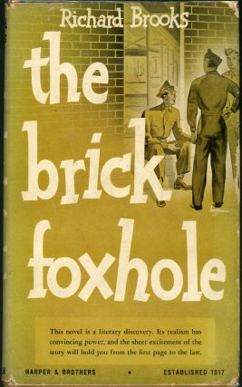 THE BRICK FOXHOLE. Richard Brooks
