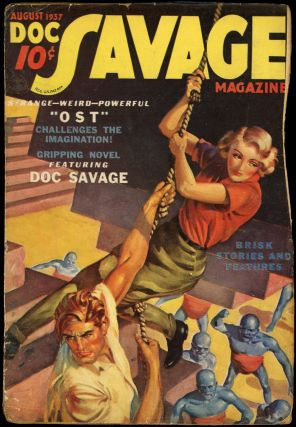 DOC SAVAGE. 1937 DOC SAVAGE. August, No. 6 Volume 9