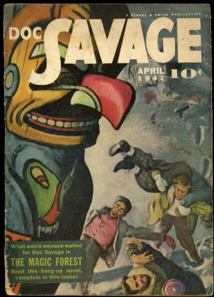 DOC SAVAGE. 1942 DOC SAVAGE. April, No. 2 Volume 19