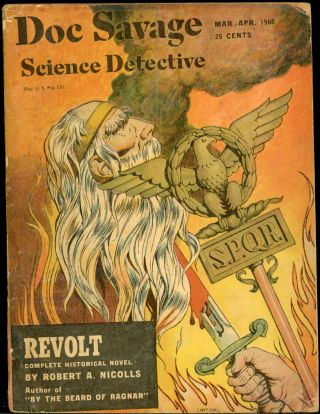 DOC SAVAGE. 1948. . B. Rosmond DOC SAVAGE SCIENCE DETECTIVE. March-April, No. 1 Volume 30