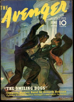 THE AVENGER. THE AVENGER. June 1940, No. 4 Volume 2