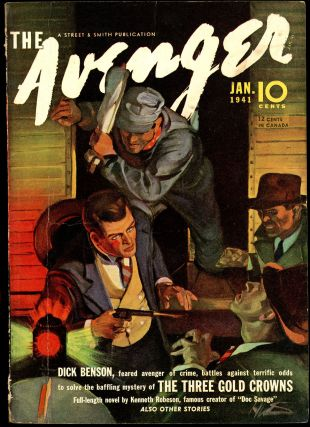 THE AVENGER. THE AVENGER. January 1941, No. 2 Volume 3