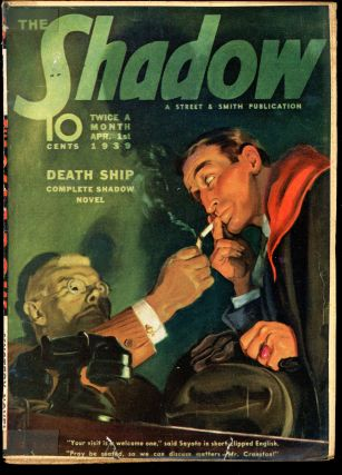 THE SHADOW. 1939 THE SHADOW. April 1, No. 3 Volume 29