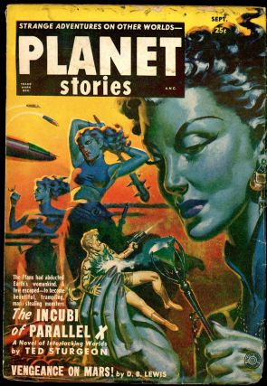 PLANET STORIES. 1951 PLANET STORIES. September, Number 2 Volume 5