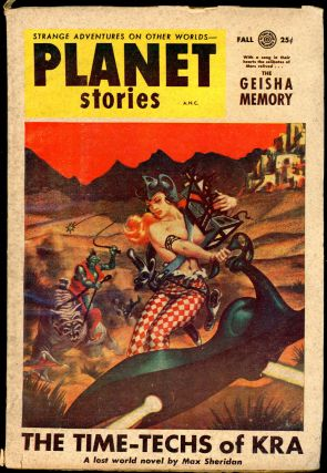 PLANET STORIES. ed PLANET STORIES. Fall 1954. . Jack O'Sullivan, Number 8 Volume 6