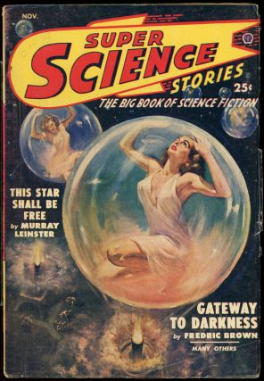 SUPER SCIENCE STORIES. CANADIAN ISSUE, ed SUPER SCIENCE STORIES. November 1949. . Ejler...