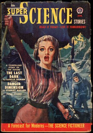 SUPER SCIENCE STORIES. CANADIAN ISSUE, ed SUPER SCIENCE STORIES. April 1951. . Ejler Jakobssen,...