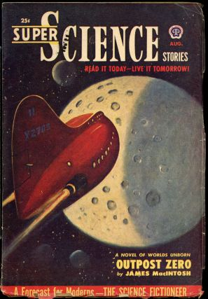 SUPER SCIENCE STORIES. CANADIAN ISSUE, ed SUPER SCIENCE STORIES. August 1951. . Ejler Jakobssen,...
