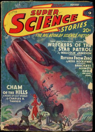 SUPER SCIENCE NOVELS. ed SUPER SCIENCE NOVELS. August 1942. . Alden H. Norton, Number 1 Volume 4