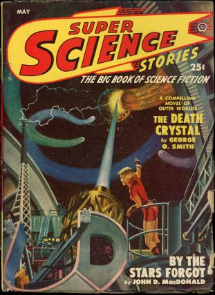SUPER SCIENCE STORIES. ed SUPER SCIENCE STORIES. May 1950. . Ejler Jakobssen, Number 4 Volume 6