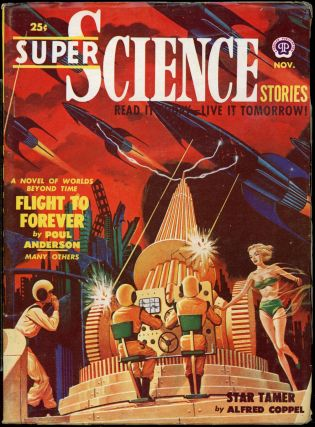 SUPER SCIENCE STORIES. ed SUPER SCIENCE STORIES. November 1950. . Ejler Jakobssen, Number 3 Volume 7
