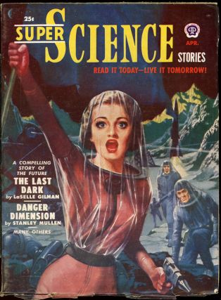 SUPER SCIENCE STORIES. ed SUPER SCIENCE STORIES. April 1951. . Ejler Jakobssen, Number 4 Volume 7