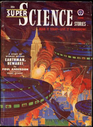 SUPER SCIENCE STORIES. ed SUPER SCIENCE STORIES. June 1951. . Ejler Jakobssen, Number 2 Volume 8