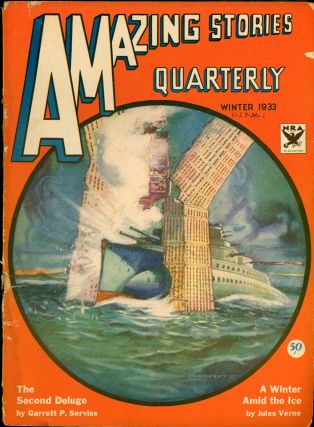 AMAZING STORIES QUARTERLY. ed AMAZING STORIES QUARTERLY. Winter 1933. . T. O'Conor Sloane, Number...