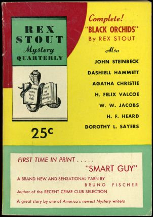 REX STOUT MYSTERY. [ISSUES 1-9: ALL PUBLISHED]. REX STOUT MYSTERY QUARTERLY later REX STOUT...