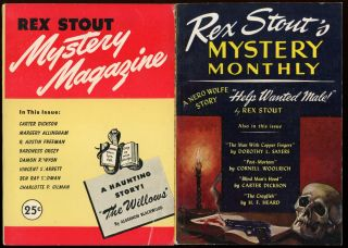 REX STOUT MYSTERY. [ISSUES 1-9: ALL PUBLISHED].