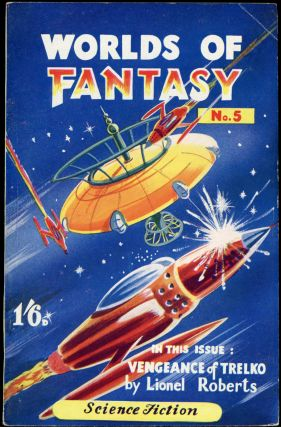 WORLDS OF FANTASY. Michael Nahum, Sol Assael, 1952 April
