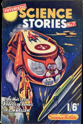 FUTURISTIC SCIENCE STORIES. Michael Nahum, Sol Assael, 1952 July