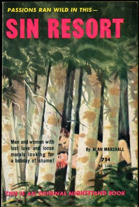 SIN RESORT. Alan Marshall, likely Donald Westlake pseudonym