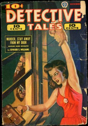 DETECTIVE TALES [CANADIAN ISSUE]. DETECTIVE TALES. December 1944, No. 23 Volume 22