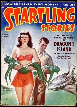 STARTLING STORIES. JACK VANCE, STARTLING STORIES. June 1952. . Samuel Mines, No. 2 Volume 26