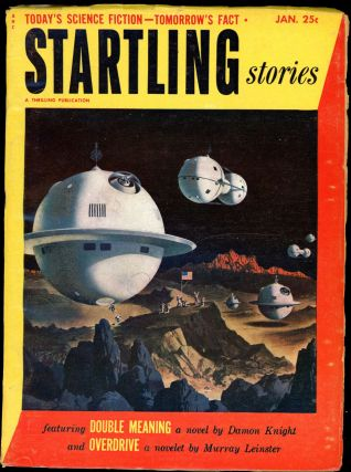 STARTLING STORIES. JACK VANCE, STARTLING STORIES. January 1953. . Samuel Mines, No. 3 Volume 28