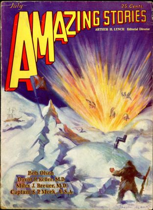 AMAZING STORIES. AMAZING STORIES. July 1929. ., Arthur H. Lynch, No. 4 Volume 4