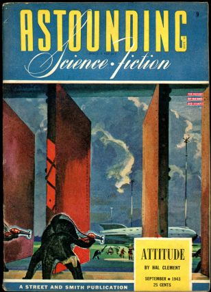 ASTOUNDING SCIENCE FICTION. Ray Bradbury, ASTOUNDING SCIENCE FICTION. September 1943. . John W....