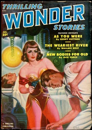 THRILLING WONDER STORIES. JACK VANCE, THRILLING WONDER STORIES. August 1950. . Samuel Merwin Jr,...