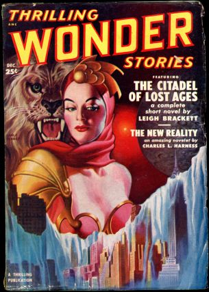 THRILLING WONDER STORIES. THRILLING WONDER STORIES. December 1950. . Samuel Merwin Jr, No. 3...