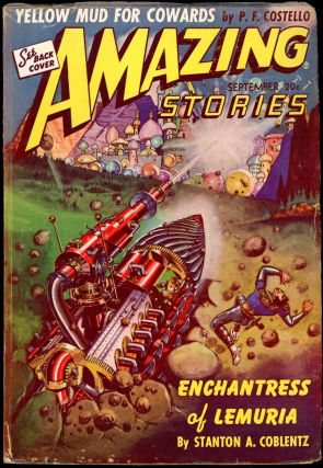 AMAZING STORIES. AMAZING STORIES. September 1941. ., Bernard G. Davis, No. 9 Volume 15