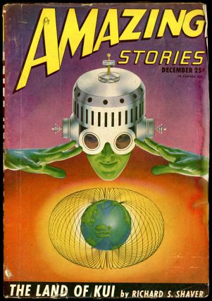 AMAZING STORIES. AMAZING STORIES. December 1946. ., Raymond A. Palmer, No. 9 Volume 20