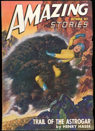 AMAZING STORIES. AMAZING STORIES. October 1947. ., Raymond A. Palmer, No. 10 Volume 21