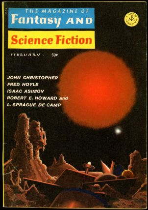THE MAGAZINE OF FANTASY AND SCIENCE FICTION. Howard Robert E.. THE MAGAZINE OF FANTASY AND...