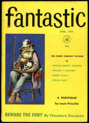 FANTASTIC. FANTASTIC. April 1954. . Howard Browne, No. 2 Volume 3