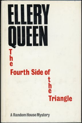 "THE FOURTH SIDE OF THE TRIANGLE. Avram Davidson, ""Ellery Queen."""
