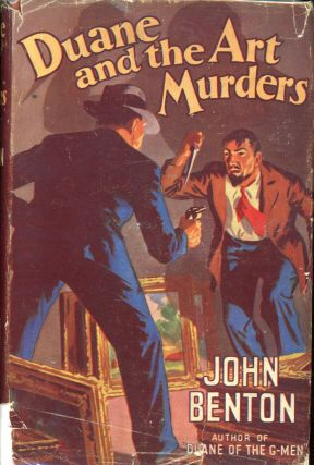 DUANE AND THE ART MURDERS. John Benton, Thomas Albert Curry