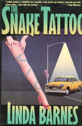 THE SNAKE TATTOO. Linda Barnes