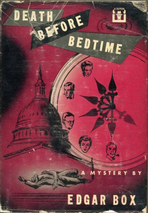 DEATH BEFORE BEDTIME. Edgar Box, Gore Vidal