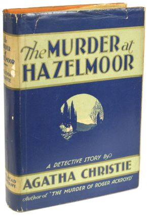 THE MURDER AT HAZELMOOR. Agatha Christie