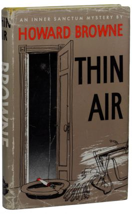 THIN AIR. Howard Browne